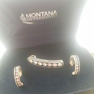 Montana Silversmith's rhinestone set